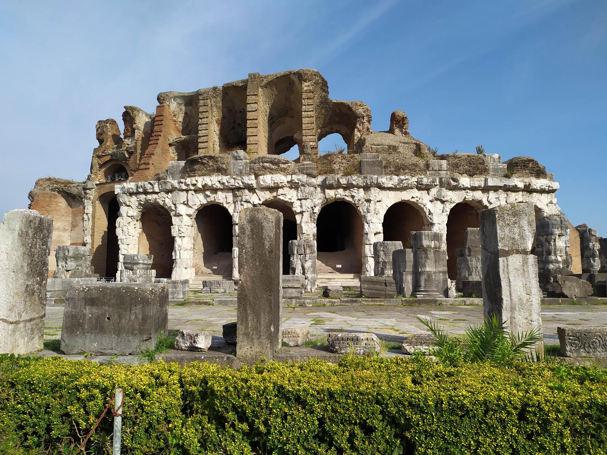 Sabato 31.10.2020 Visita guidata all'Anfiteatro di Santa Maria Capua Vetere